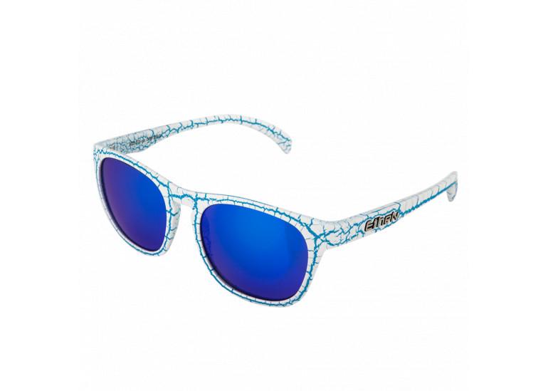 LIO113 BLUE LENS – CRAQUELE BLUE / WHITE