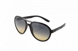 occhiali da sole effetto pelle nera