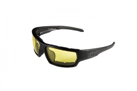 MILSTUNT02- STUNT BLACK / YELLOW LENS
