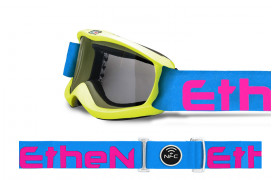 SK0402-MASCHERA 04 YELLOW FLUO/LIGHT BLUE/PINK