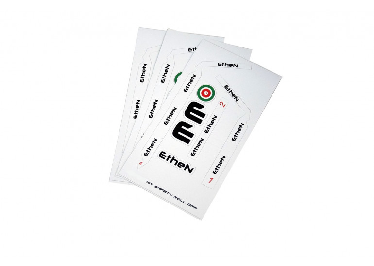 STICKERS KIT SAFETY ROLL OFF 50mm