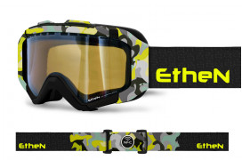 IRSK07_SNOW GOGGLES BLACK CAMOU FLUO