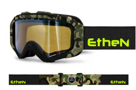 IRSK04_SNOW GOGGLES BLACK CAMOU