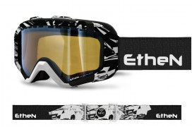 IRSK05_SNOW GOGGLES BLACK WHITE