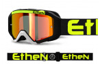 AR0716_ARES GOGGLE BLACK YELLOW FLUO WHITE